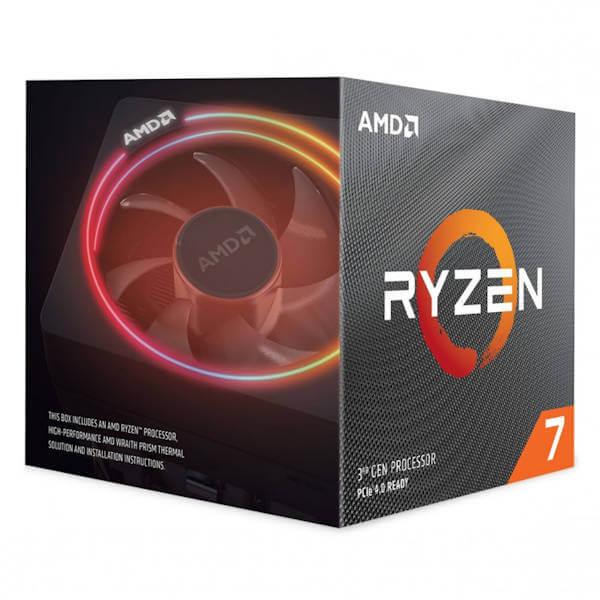 AMD Ryzen 7 3700X 8 Core – 3.6GHz