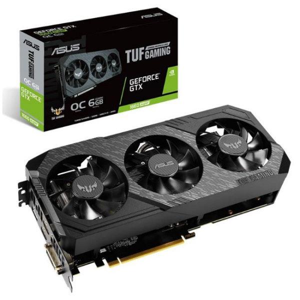 ASUS-GeForce-GTX-1660-SUPER-TUF-Gaming-X3-OC-6GB-Video-Card